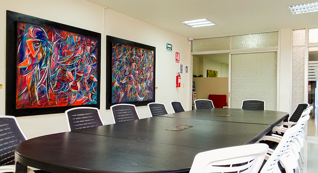 Sala de juntas en Ensenada Business Center